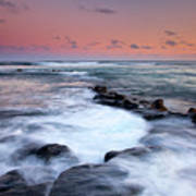 Koloa Sunset Art Print by Mike  Dawson
