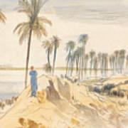 Kom El Amhr, 1 Pm, 4 January 1867 Art Print