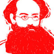 Komrade K Art Print