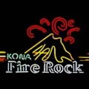 Kona Fire Rock 2 Art Print