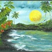 Kona Sunrise Art Print