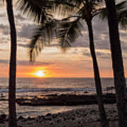 Kona Sunset Art Print by Brian Harig