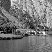 Konigssee Lake And Saint Bartoloma 2 Art Print