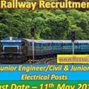 Konkan Railway Recruitment Art Print