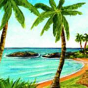 Koolina Lagoon Oahu, Hawaii #343 Art Print