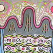 Korean Landscape Painting Art Print