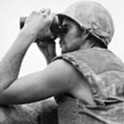 Korean War: Bunker Hill Art Print