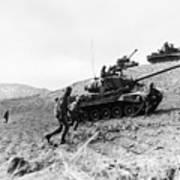 Korean War: Infantrymen Art Print