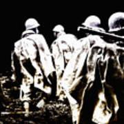 Korean War Memorial Art Print