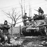 Korean War: Tank, 1951 Art Print