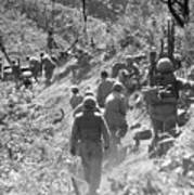 Korean War: Triangle Hill Art Print