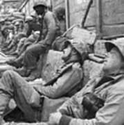Korean War: U.n. Troops Art Print