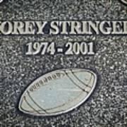 Korey Stringer Tribute Art Print