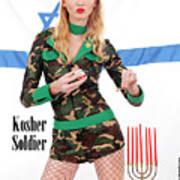 Kosher Soldier Art Print