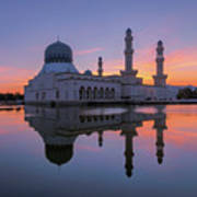 Kota Kinabalu City Mosque I Art Print
