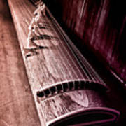 Koto - Japanese Harp Art Print