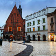 krakow 'XI Art Print