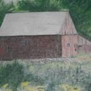 Krashes Barn Art Print