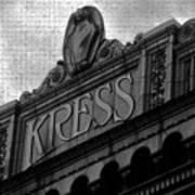 Kress 1929 Art Print