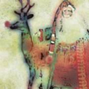 Kris And Rudolph Art Print