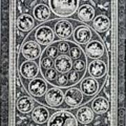 Krishna Leela 3 Art Print