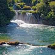 Krka National Park Waterfalls 5 Art Print