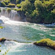 Krka National Park Waterfalls 6 Art Print