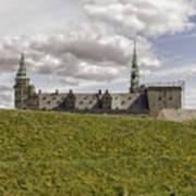 Kronborg Castle Moat Mound Art Print