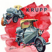 Krupp Street Sweeper Art Print