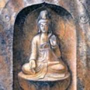 Kuan Yin Meditating Art Print