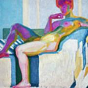 Kupka Planes Nude Art Print