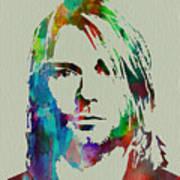 Kurt Cobain Nirvana Art Print
