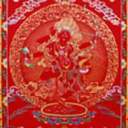 Kurukulle Devi Art Print