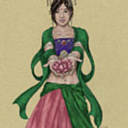 Kwan Yin Art Print