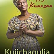 Kwanzaa Kujichagulia Art Print