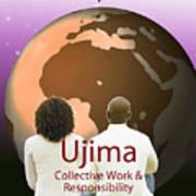 Kwanzaa Ujima Art Print