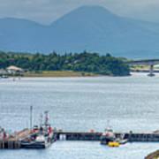 Kyle Of Lochalsh And The Isle Of Skye, Art Print
