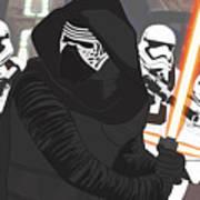 Kylo Ren - Star Wars Art Print