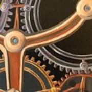 Kym's Clockwork Art Print