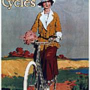 Kynoch Cycles - Bicycle - Vintage Advertising Poster Art Print