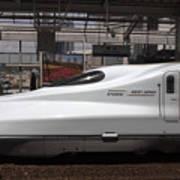 Kyushu Bullet Train Locomotive Art Print
