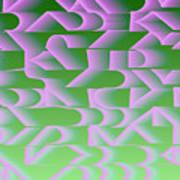 l13-FF9DEC-4x3-2000x1500 Art Print