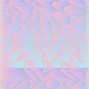 l15-BFA5FF-3x3-1800x1800 Art Print