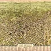 La Antique Map Art Print