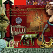 La Bella Roma Antica Art Print