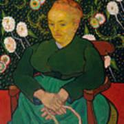 La Berceuse. Woman Rocking A Cradle. Augustine-alix Pellicot Roulin Art Print