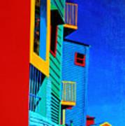 La Boca Street Scene Twelve Art Print