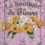 La Botanique 1 Art Print