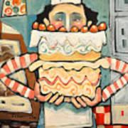 La Boulanger Francaise Art Print