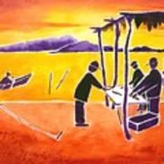 La Brecha Pescadors Art Print